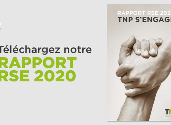 Le rapport RSE 2020 de TNP est disponible