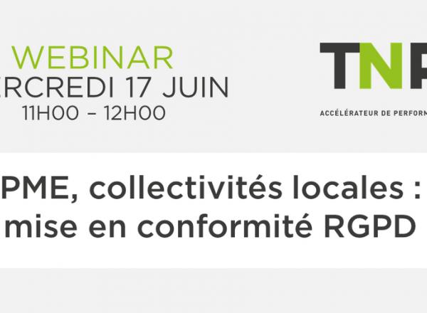 Webinar | PME, collectivités locales : mise en conformité RGPD